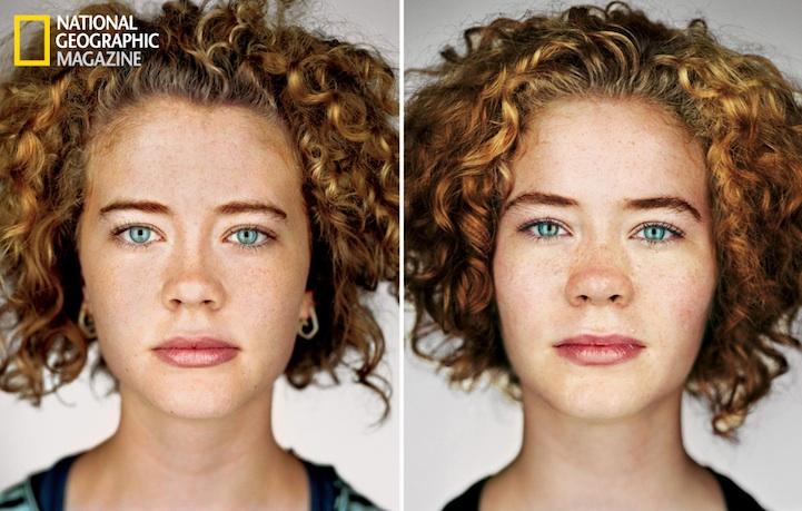 spellbinding portraits of identical twins