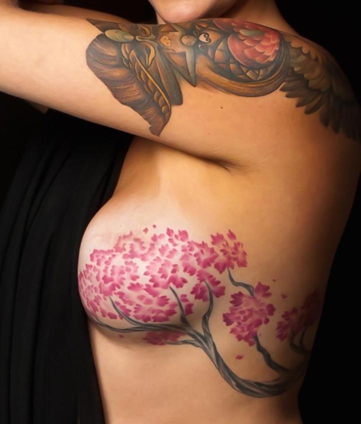 Senseless. Breast cancer bra tattoo apologise, but