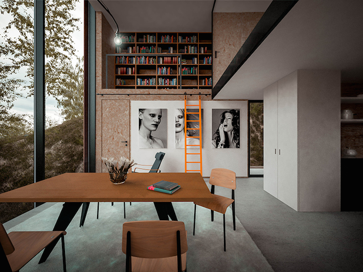Elevated Minimalist House Designed For A Photographer
