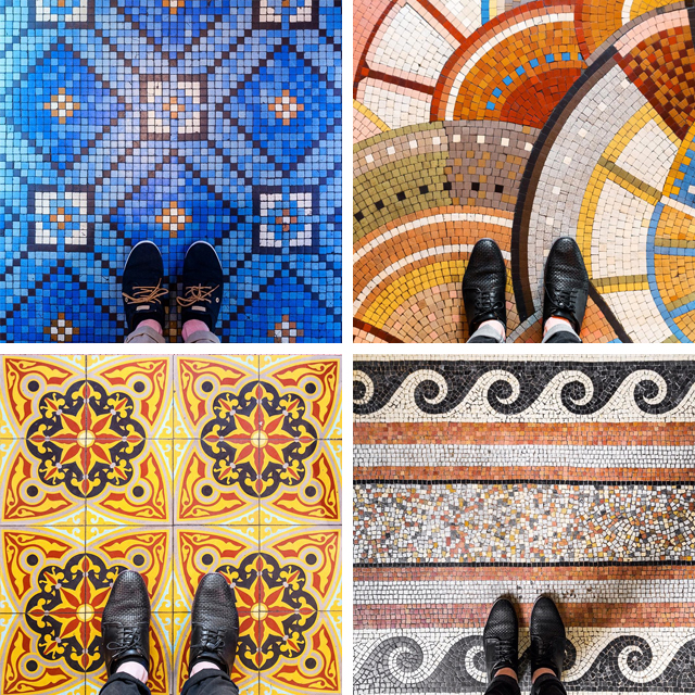 Photographer Documents The Unique Beauty Of Colorful Floor