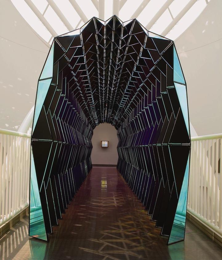 Mesmerizing Tunnel Looks Like A Colorful Kaleidoscope When