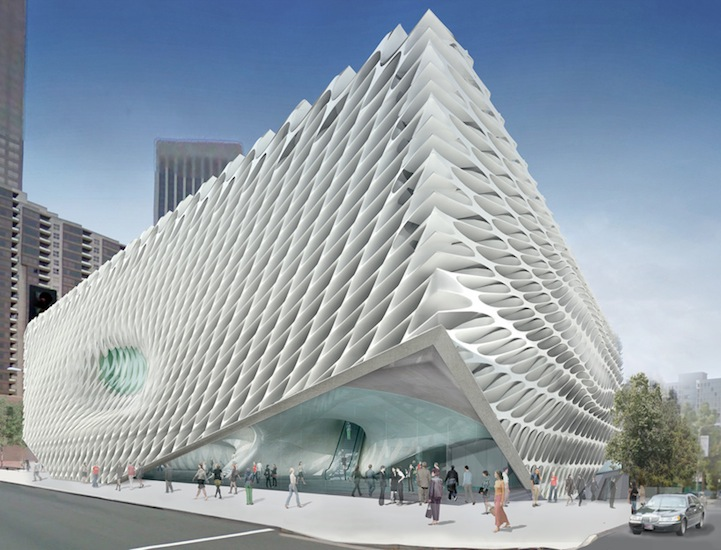 Beautiful Designed By Diller Scofidio + Renfro, The Broad Museum Will Play A Central  Role In The Re Urbanization Of Los Angelesu0027 Grand Avenue, As Well As  Provide A ...