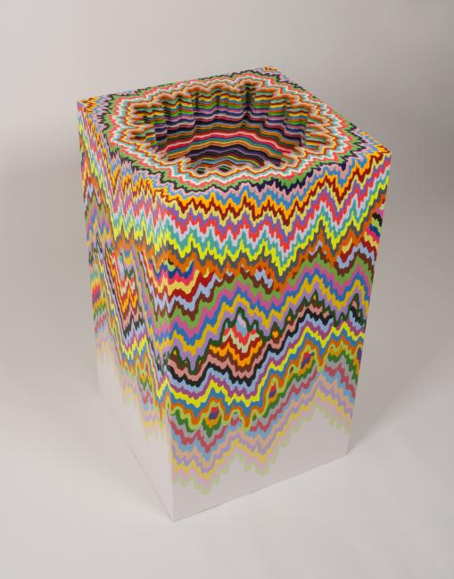 New Mesmerizing Paper Sculptures By Jen Stark At Art Basel - Mesmerising hand crafted paper sculptures jen stark
