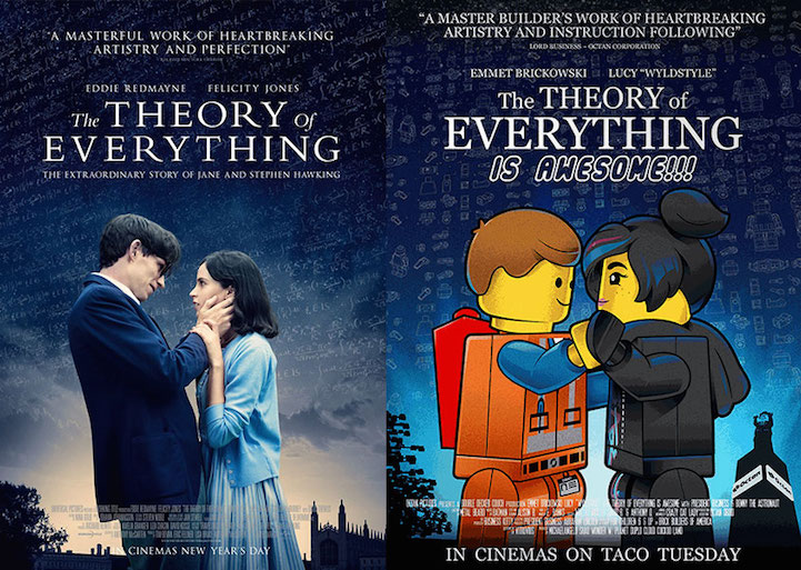 Parody Posters Reimagine Oscar-Nominated Films in Funny Movies 2015