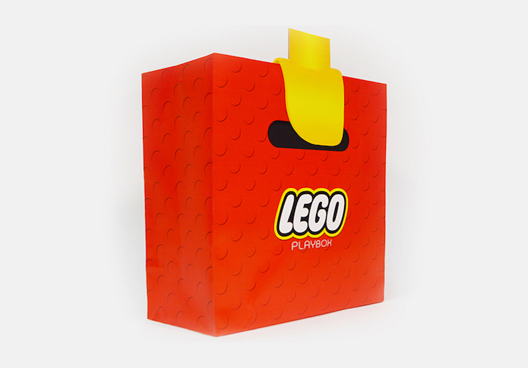 LEGO's Playful Bag Makes For One Memorable Design