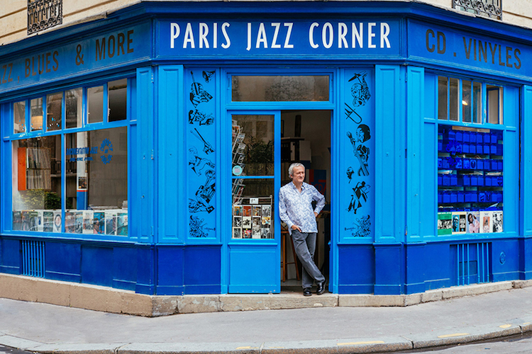 Business Owner Contributes To Parisian Society With Jazz Music Shop
