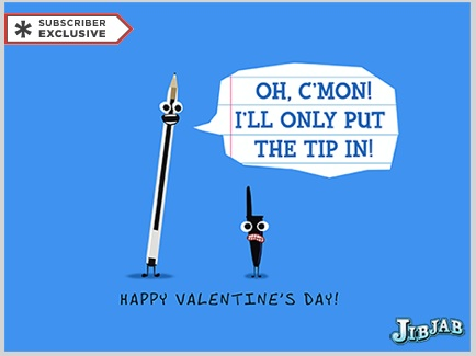 jibjabs valentines day e cards 3 total - E Valentines Cards