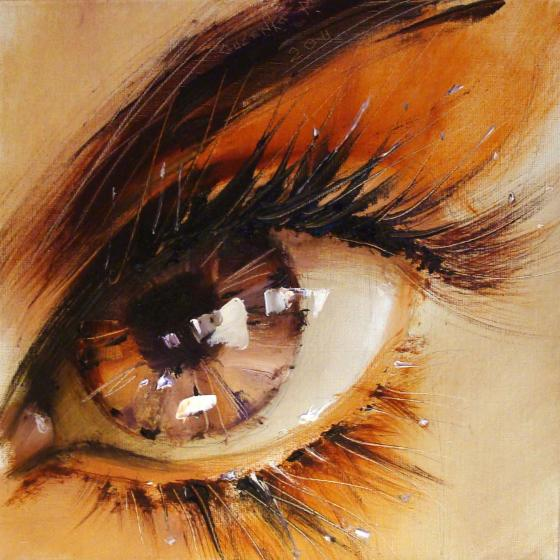 Spectacular Oil Paintings of Twinkling Eyes  Spectacular Oil...