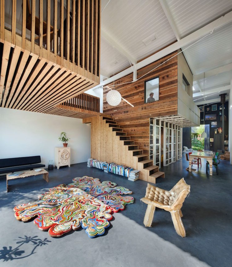 Painter Jans Muskee And Sculptors Handmade Industrials Provided Artwork To  Compliment The Interiors, And An Upcycled Rug By Atelier Remyu0026Veenhuizen  Carries ...