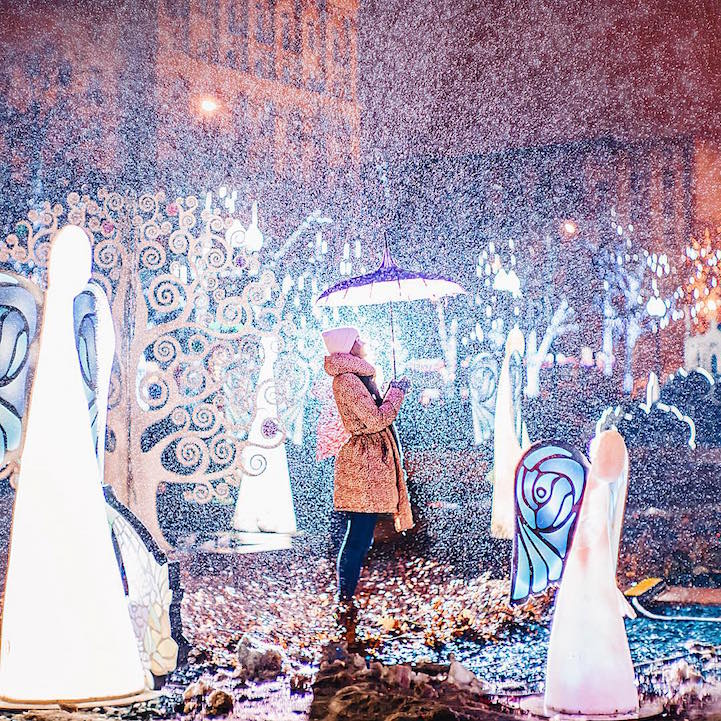 Sparkling City Of Moscow Celebrates Orthodox Christmas In