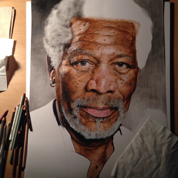 18 Year Old Artist S Amazingly Realistic Drawings Of