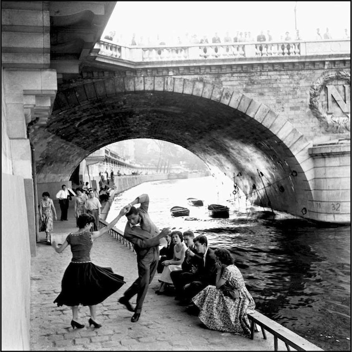 Vintage black and white photos of paris by paul almásy