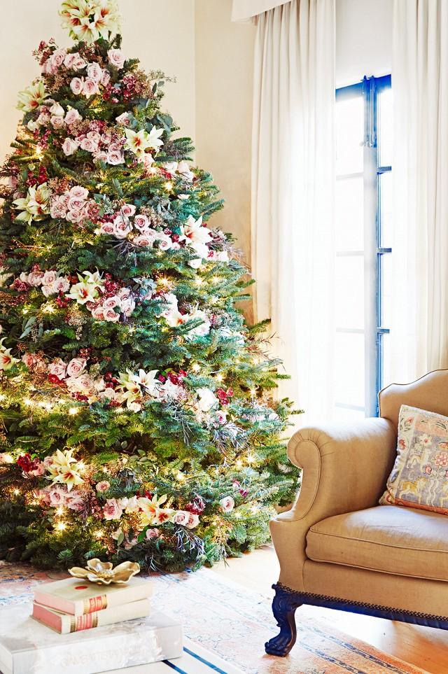 design decor decorated tree garden christmas decoration trees home