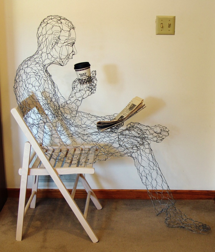 Wired Coffee Man