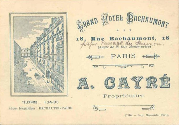 Grand Hotel Bachaumont