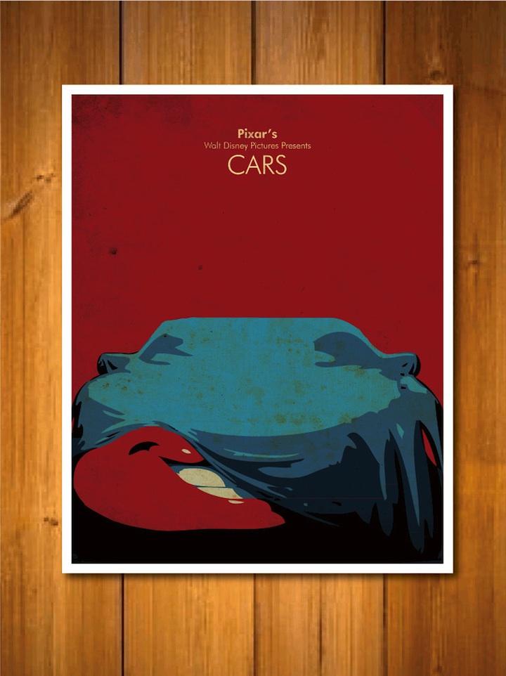 Sweet Pixar Character Posters
