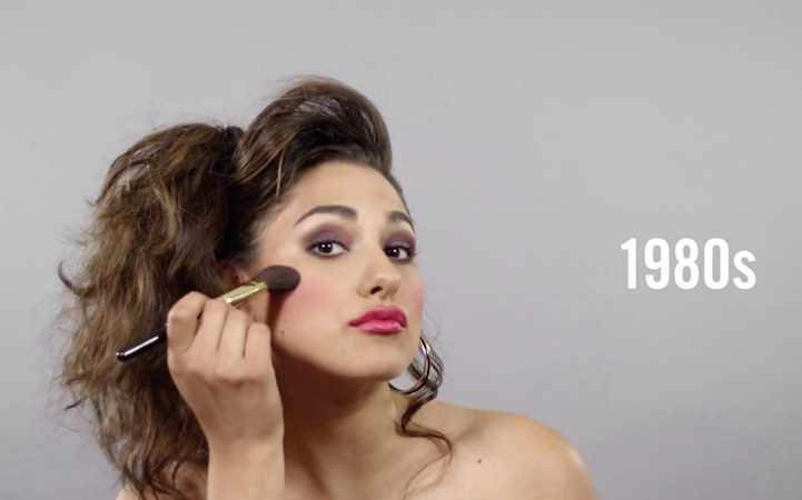 Changing Beauty, Hairstyles, and Makeup Over 100 Years in Mexico