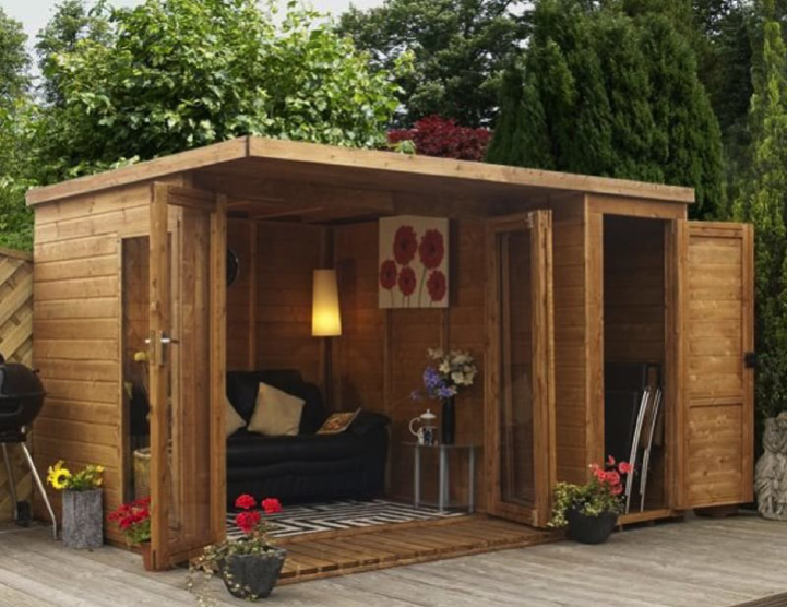 Ralph Man Cave Better Homes And Gardens : Stylish quot she sheds are the relaxing women s version of