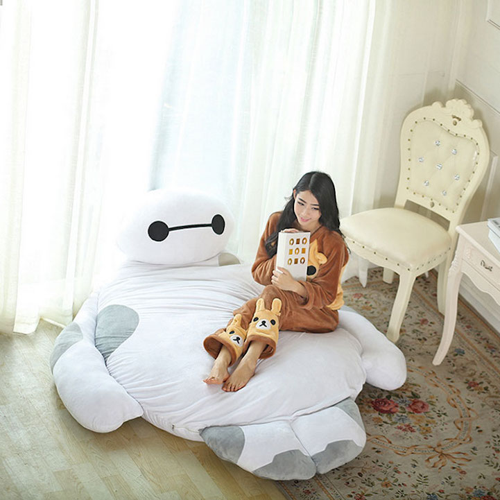 Life Size Quot Big Hero 6 Quot Baymax Is The Adorable Bed That Can