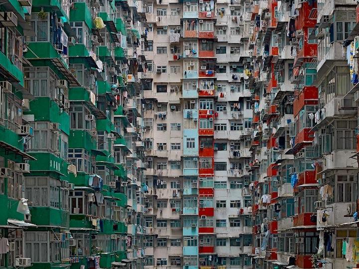 Hong Kong's Incredibly Dense Apartment Buildings