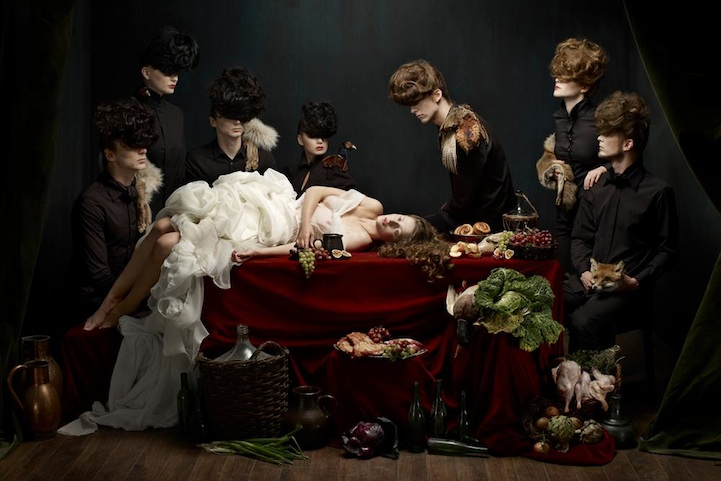 Stunning Baroque Painting-Inspired Photography