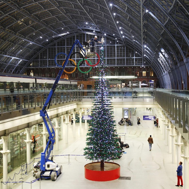 World's Largest LEGO Christmas Tree