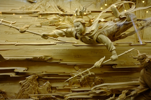 The fading art of traditional chinese dongyang wood carving