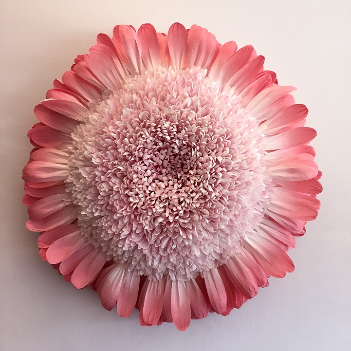 New giant flowers painstakingly crafted out of thousand of paper petals mightylinksfo