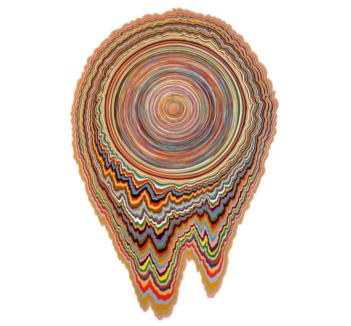 Mind melting paper sculptures 16 pics for 3d paper craft ideas from jen stark