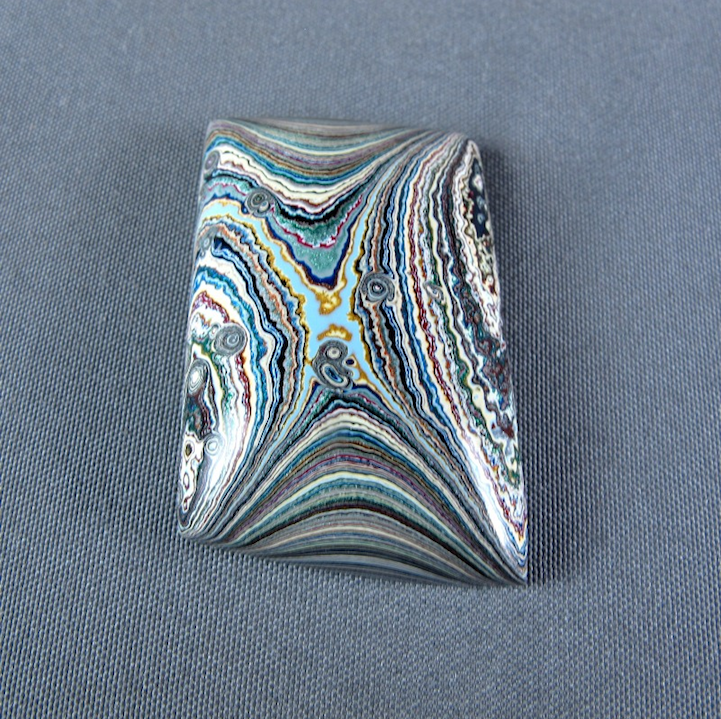 Beautifully Rare Stones Produced From Layers Of Old Car Paint