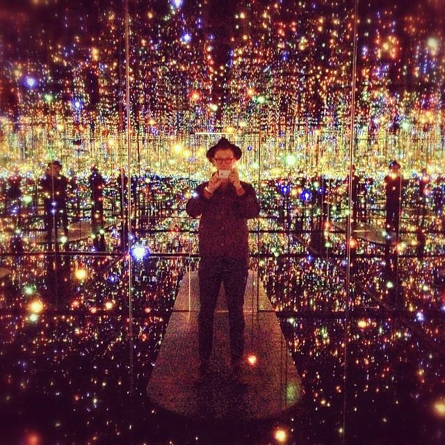 New Yayoi Kusama Infinity Room At David Zwirner In New York