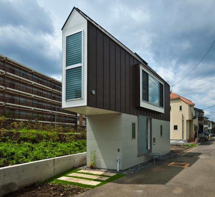 Beautiful Japanese Houses narrow japanese home