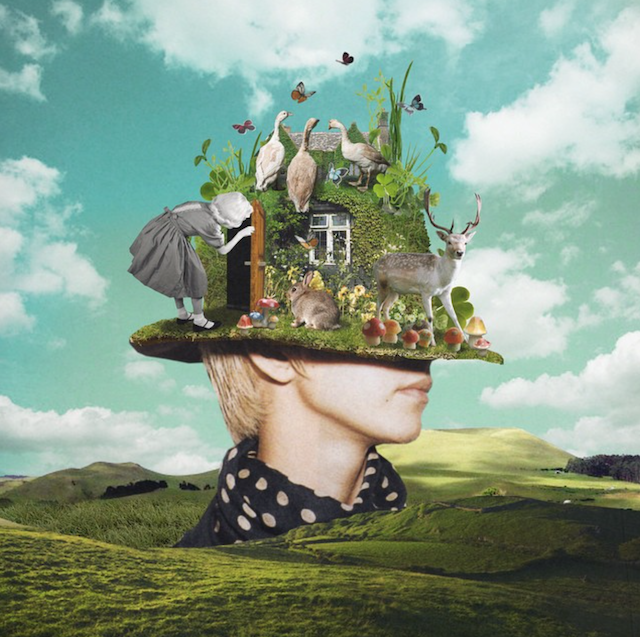 Surreal Collages Blend Vintage Elements to Create ...