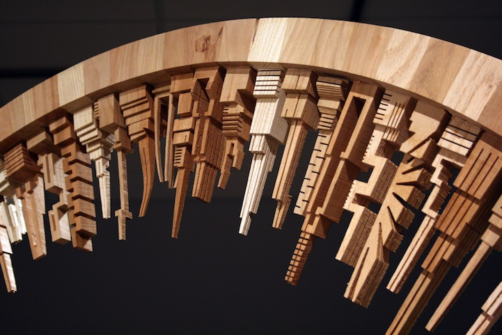 Incredible Wood Carved Cityscapes By James McNabb