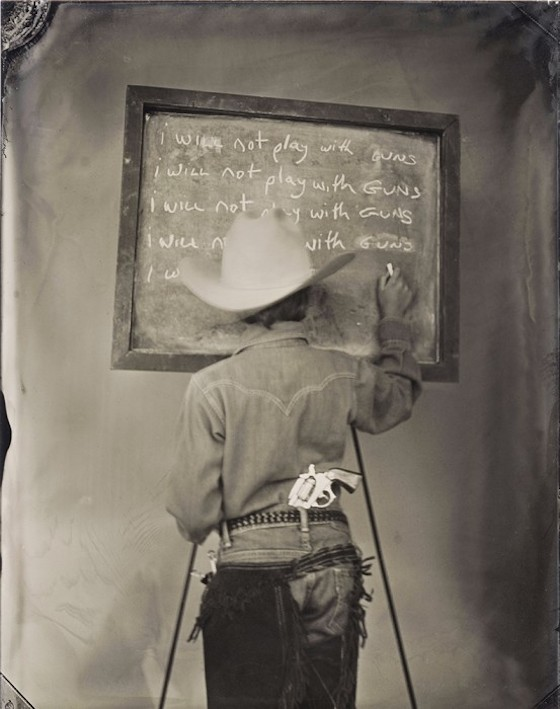 Funny Old-Fashioned Photos Of Children Writing Their Vices