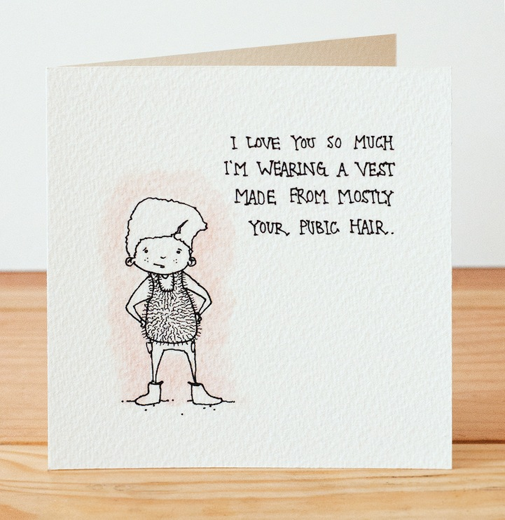 Hilariously Creepy Valentines Day Cards