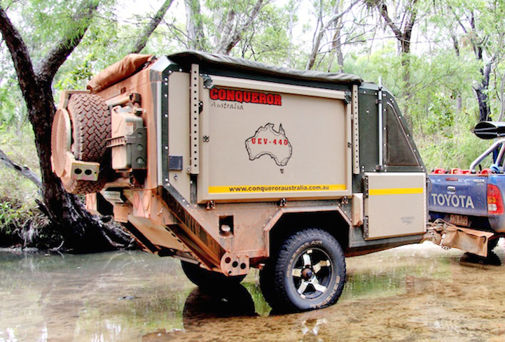 Luxury Off Road Camper Trailer Is The Ultimate Urban