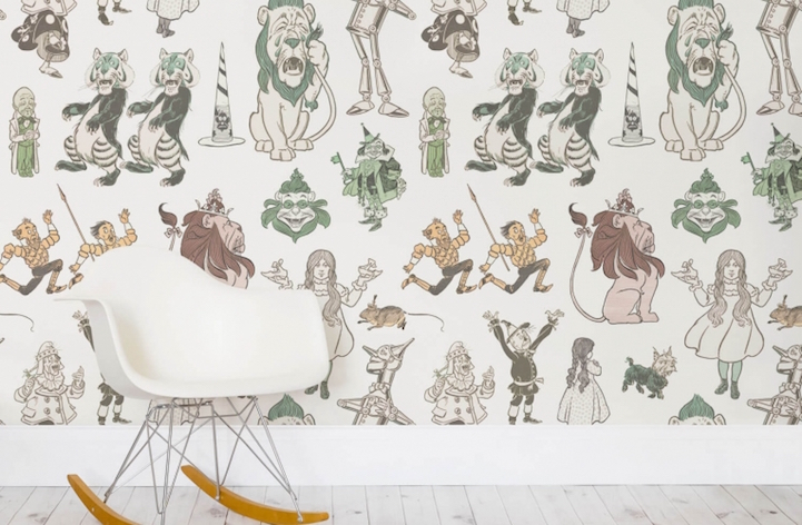 There Are Several Wallpaper Murals Of Other Beloved Tales