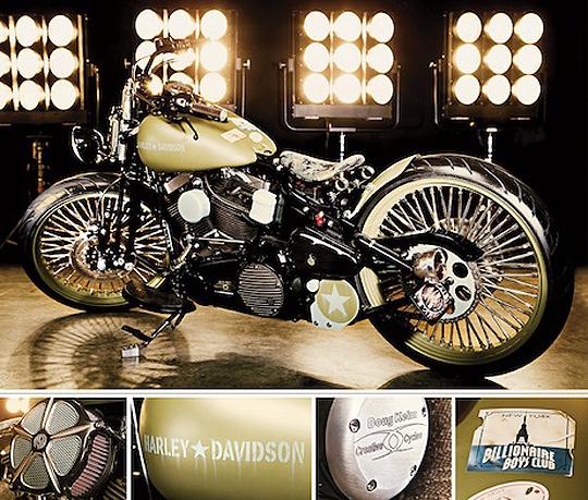 pharrell williams x creative cycles custom harley davidson