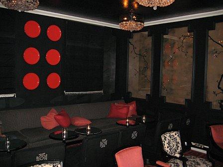 Bar noir maison 140 hotel beverly hills for 140 maison hotel