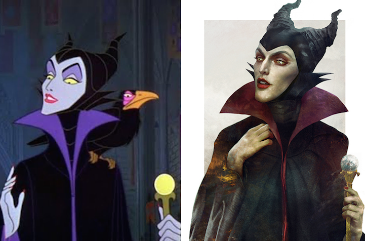 Artist Brilliantly Imagines What Disney Villains Would Look