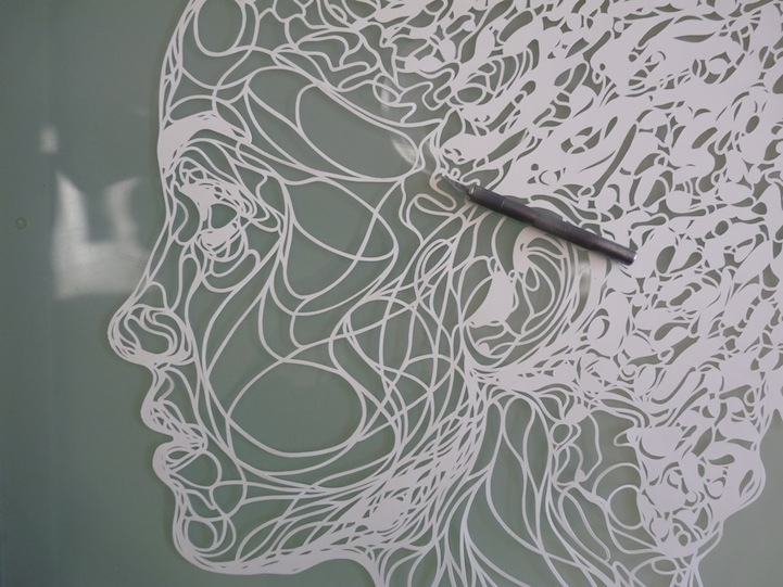 Spray Paint For Intricate Stencil