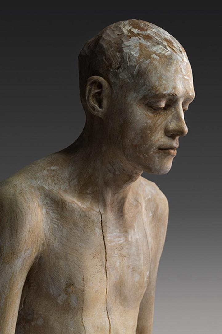 Stone Carving Sculpture Faces
