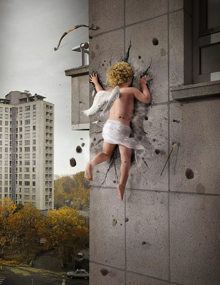 photo manipulation photoshop sample angel
