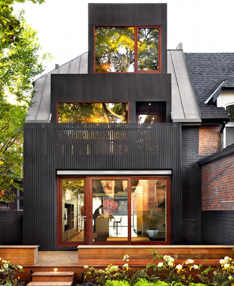 Victorian era home is completely transformed with a for Victorian era windows