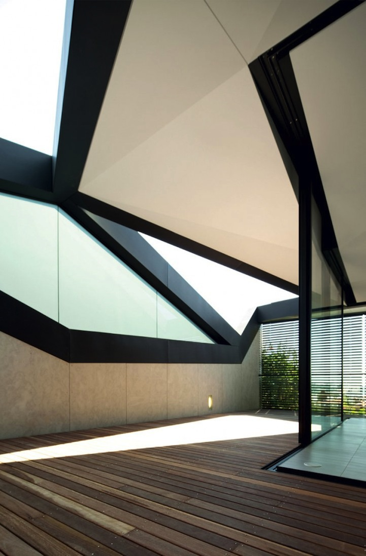 Stylish Pitched Roof House