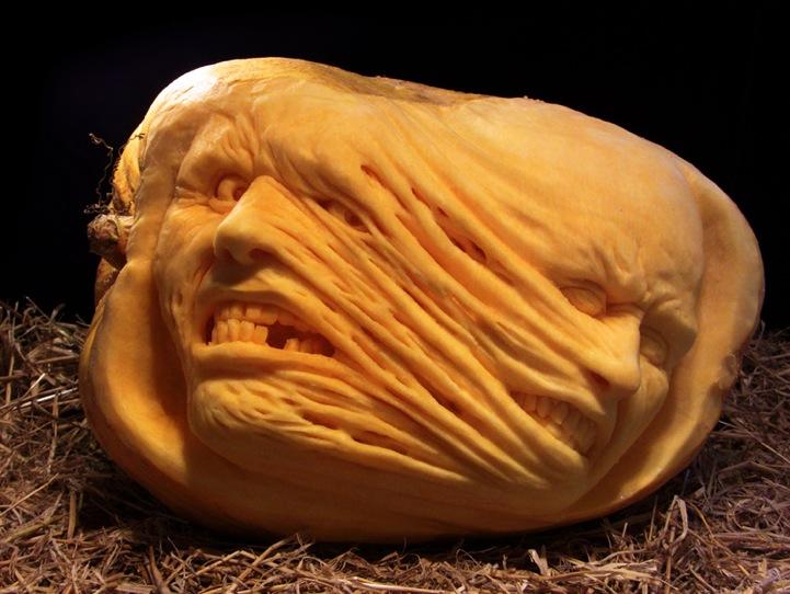 Most expressive pumpkin faces ever