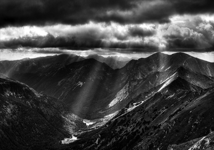 - Majestic Black And White Landscapes