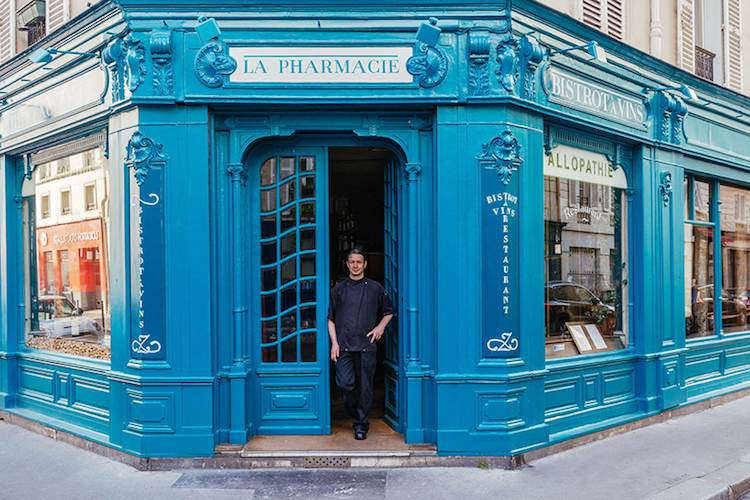 Colorful French Storefronts
