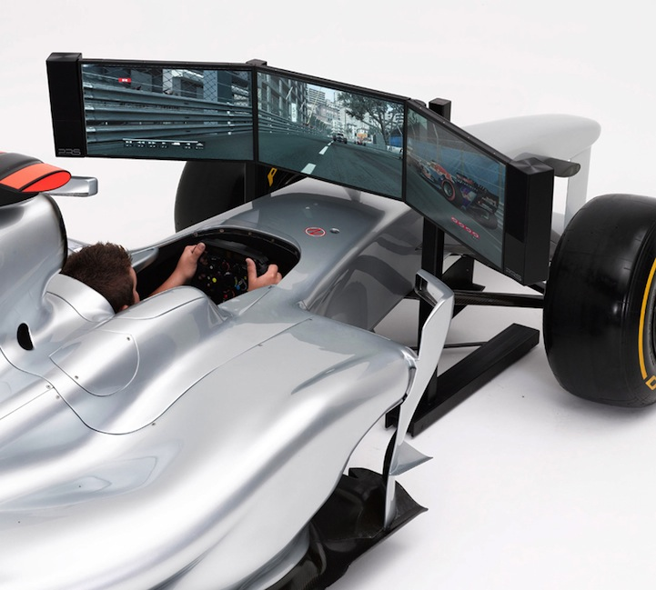 Full Sized F1 Race Car Simulator For Your Living Room